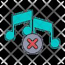 No Music No Sound No Icon