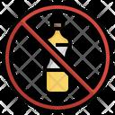 No Oil Oil Prohibited Icon