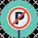 No park sign Icon