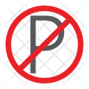 No Parking Prohibited Icon