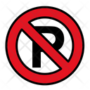 No Parking Parking Road Icon