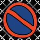 No Parking Warning Icon