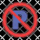 Car No Parking Icon