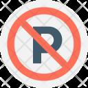 No Parking Forbid Icon