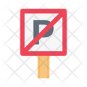Noparking Notallowed Board Icon