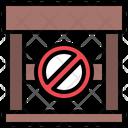 No Parking Circulation Transportation Icon