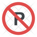 No Parking Sign Icon