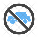 No Parking Zone Icon