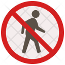No passage Icon