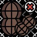 No Peanut Peanut Off Peanut Ban Icon