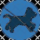No Dog No Pet Pet Not Allowed Icon