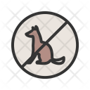 No Pet Sign Icon