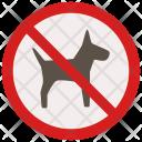 No Pets Sign Icon