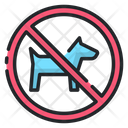 No Pets Pets Not Allow Dog Not Allow Icon