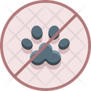 No Pets Allowed Animal Are Prohebited Animals Not Allow Icon