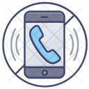 No Phone Call Icon