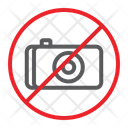 No Photo Camera Icon