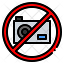 No Photo Not Allowed Signaling Icon