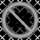 No Photo Warning Prohibition Icon