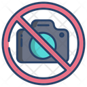 No Photography No Camera No Photo Icon