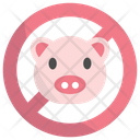 No Pig No Pork Fasting Icon
