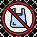 No Plastic Bag Plastic Bag Icon