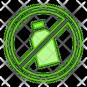 Plastic Bottle Trash Icon