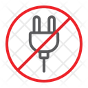 No Plug Prohibited Icon