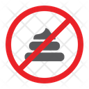 No Poop Shit Icon