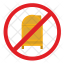 Cancel Street Stand Icon