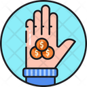 No Poverty Giving Money Pay Icon
