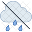 No raining cloud Icon