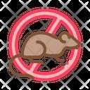 Rat Sign Against Icon