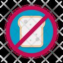 No Refined Carbs No Refined No Bread Icon