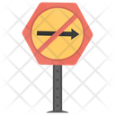 No Right Prohibitory Icon
