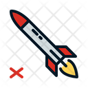 No Rocket Rocket Missile Icon