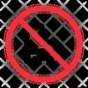 No Roller Skates Warning Error Icon