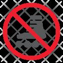 Roller Skates Stop Icon
