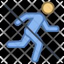 No Running Ban Icon