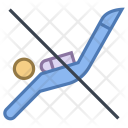 No scuba diving Icon