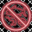 No Sea Food Sea Food Animal Icon