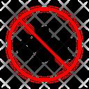 Seafood Fish Ban Icon