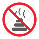 Shit Feces Stop Icon