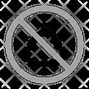 No Shit Warning Prohibition Icon
