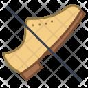 No Shoes Ban Icon