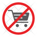 No Shopping Cart Icon