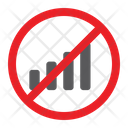 No Signal Prohibited Icon