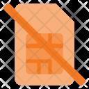 Card Sim Error Icon