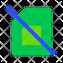 No Simcard No Sim Signal Cellular No Sim Icon