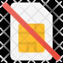 No Sim Card Icon